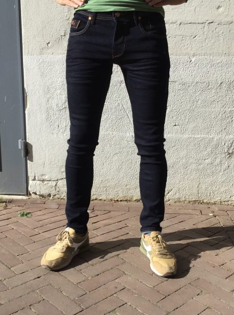 Dragster super stretch jeans ongewassen