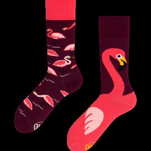Sokken flamingo