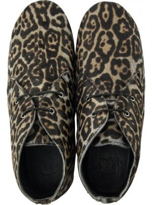 Ginny cheetah grey black