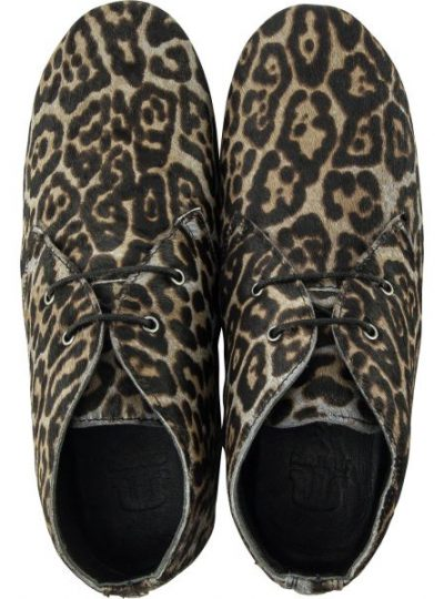 Ginny cheetah grey black