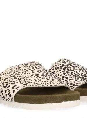 Maruti Slipper Dames, Berlin Owl White Black