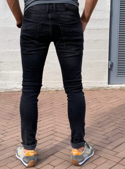 Dragster Super Stretch Jeans, Donker (New Arrival)