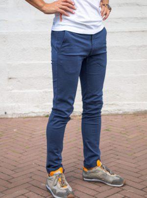 Chino Carrera Jeans Blauw Slim Fit-694 (geen joggjeans)