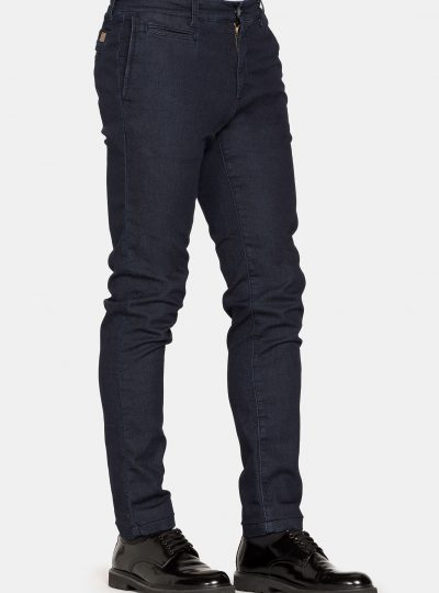 Jogg Jeans Chino Effen Donker Heren-100