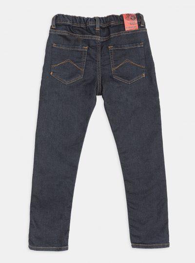 Jogg Jeans Kids, Regular Fit, Donker Met Touwtje-15D
