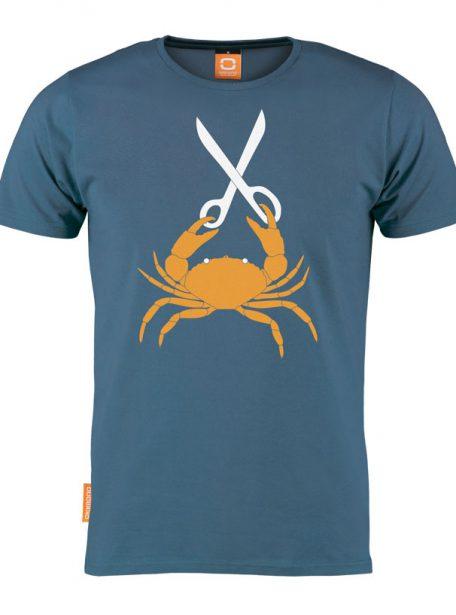 Okimono cut the crab