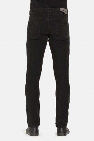 Stretch jeans zwart achterkant