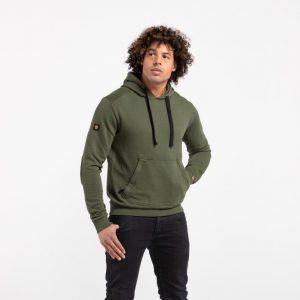Liger hoodie legergroen