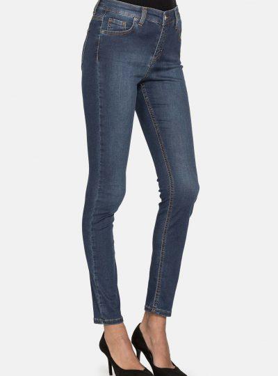Super Stretch Jeans Dames, Knoop En Rits (new arrival)