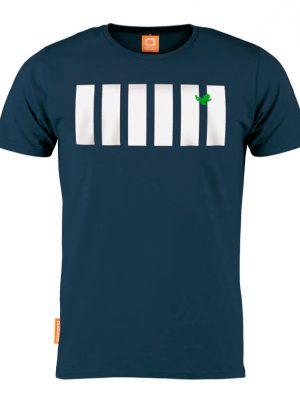 Okimono T-shirt Heren, Blauw, La Frog