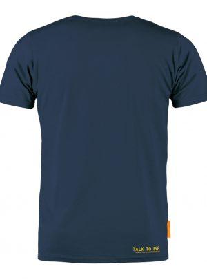 Okimono T-shirt Heren, Blauw, Talk To Me