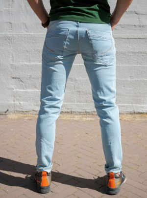 Dragster Recycle Jeans, 1% Stretch, Lichtblauw