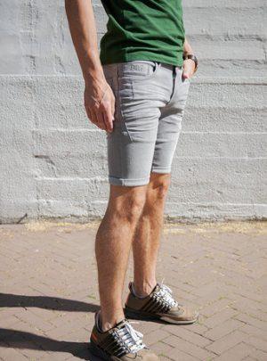 Dragster hyperstetch kort grijs