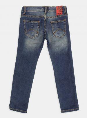 Jogg Jeans Kids, Blauw, Slim Fit Spijkerkleur-718