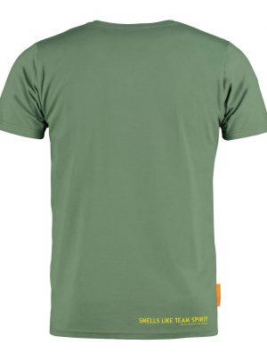Okimono T-shirt Heren, Groen, Smells Like Team Spirit