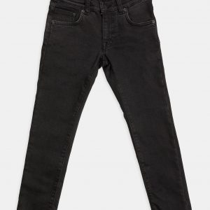 Stretch jeans kids zwart