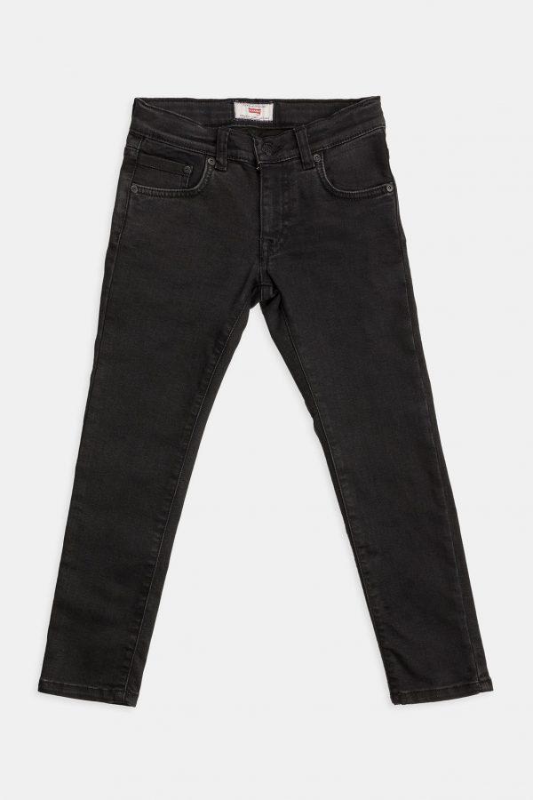 Stretch jeans kids zwart