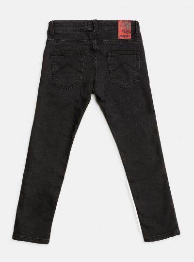 Carrera Super Stretch Jeans Kids, Zwart-900 (NEW)