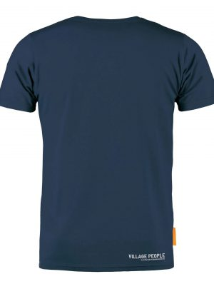 Okimono T-shirt Heren, Donkerblauw, Village People