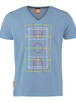 Okimono T-shirt Heren, Lichtblauw, Smells Like Team Spirit