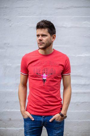 T-shirt rood maglia rosa