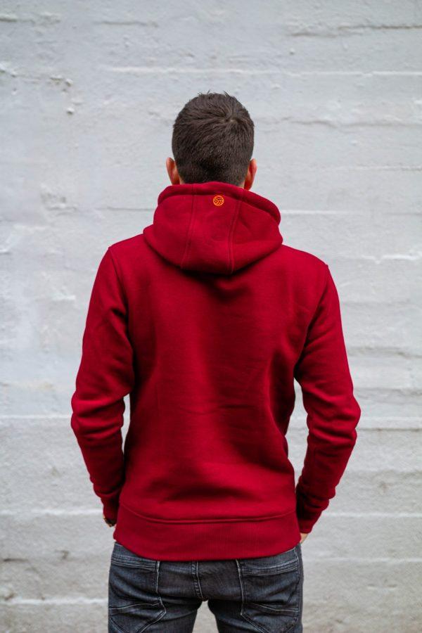 Hoodie calpe rood