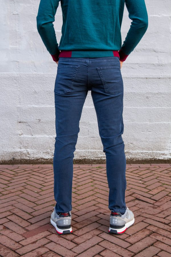 Zachte Carrera jeans achterkant