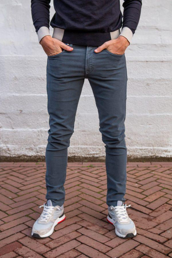 Zachte carrera jeans grijs