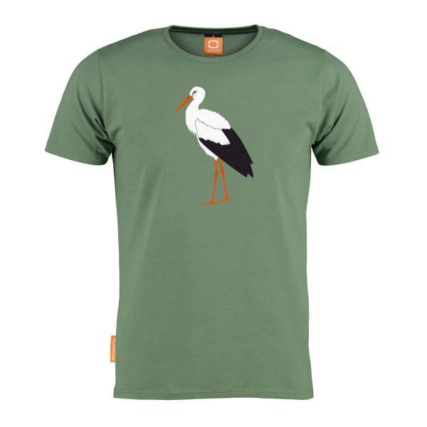 Okimono t-shirt heren Au Revoir