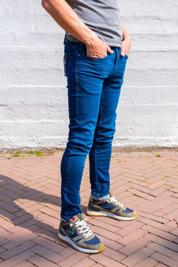 Stretch jeans zijkant
