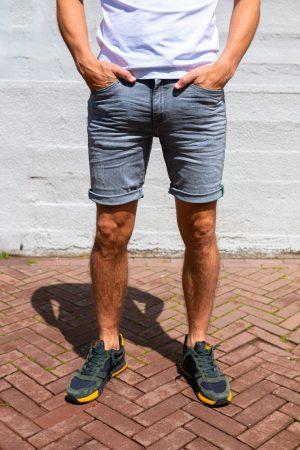 Stretch jeans kort