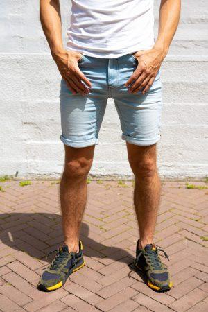 Jogging jeans korte broek
