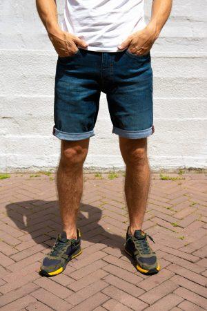 Super stretch korte broek
